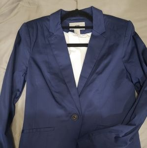 H&M blue blazer with tags